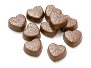 製菓材料,トッピング,業務用,菓子,卸,チョコレート,ミルクチョコレート,ハート,