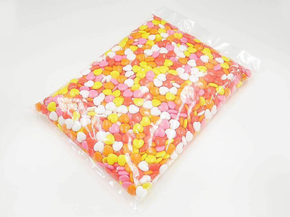 製菓材料,トッピング,業務用,菓子,卸,ラムネ,らむね,ブドウ糖,糖衣,コーティング,ハッピー,カラフル,ハート,
