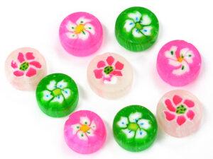 製菓材料,トッピング,業務用,菓子,卸,キャンディー,アメ,飴,あめ,ハードキャンディー,花々,
