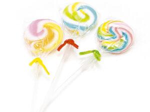 製菓材料,トッピング,業務用,菓子,卸,包装菓子,プティギフト,キャンディー,アメ,あめ,飴,ハードキャンディー,棒付きキャンディー,ペロペロキャンディー,渦巻き,うずまき,懐かしい,