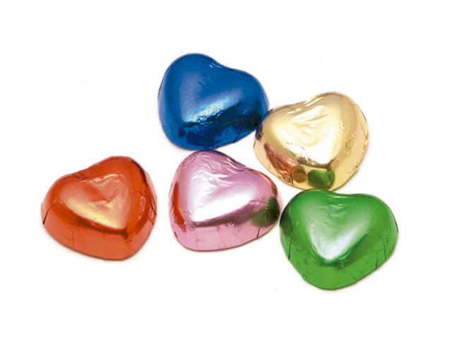 製菓材料,トッピング,業務用,菓子,卸,包装菓子,プティギフト,チョコレート,ハート,カラフル,
