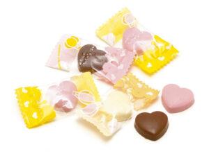 製菓材料,トッピング,業務用,菓子,卸,包装菓子,プティギフト,チョコレート,ハート,ミックス,ミルクチョコレート,ストロベリーチョコレート,ホワイトチョコレート,