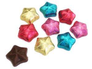 製菓材料,トッピング,業務用,菓子,卸,包装菓子,プティギフト,チョコレート,星,スター,カラフル,