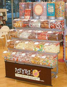 製菓材料,トッピング,業務用,菓子,卸,什器,ディスプレイ,量り売り,はかりうり,イベント,店舗,空間活用,スチール,